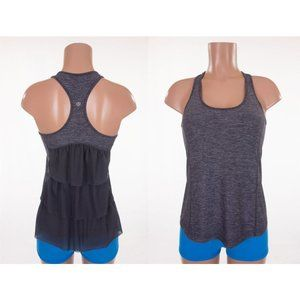 LULULEMON Special Edition Ruffled Cool Racerback 8